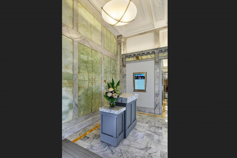 Sutter St. San Francisco lobby commercial construction