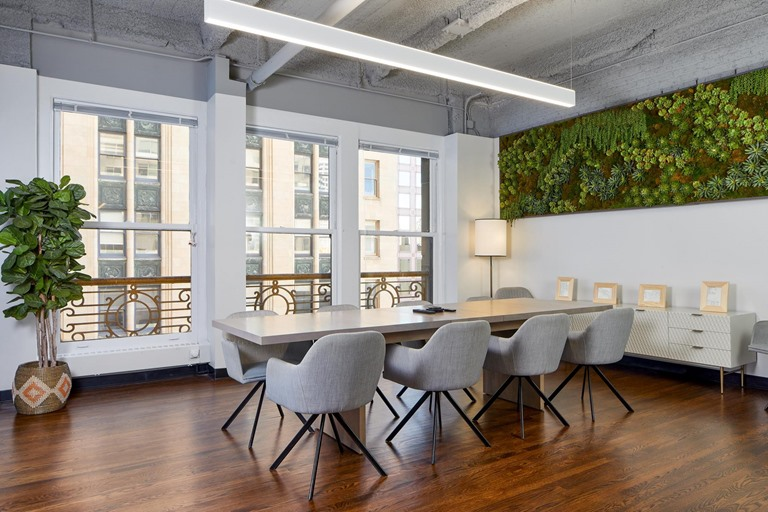 San Francisco tenant conference room commercial construction