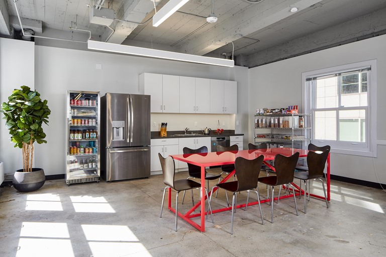 San Francisco tenant space kitchen commercial construction